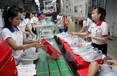 Vietnam expects 10 percent rise in leather, shoe exports