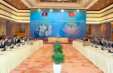 Lao media spotlights Vietnam-Laos committee meeting' success