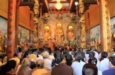 """Nguyen tieu"" festival celebrated in Laos"