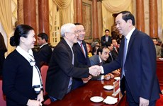 President, Front to jointly promote people-to-people diplomacy