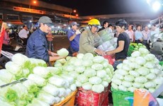 Wholesale markets seek HCM City's approval to raise fees