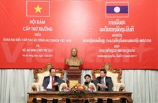 Vietnam, Laos enhance cooperation in public security