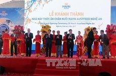 14.3-million-USD cattle-feed factory inaugurated in Nghe An