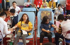 """""""Red Spring"""" festival collects 9,300 blood units"""