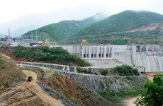 First WB-loaned hydropower plant put first turbine into use