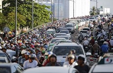 HCM City details plan to tackle traffic congestion