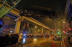 First train installed for Hanoi's urban railway