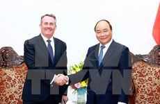 Prime Minister receives UK Secretary of State for International Trade