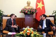 Deputy PM greets new French Ambassador
