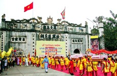 Cua Ong Temple Festival gets intangible cultural heritage status