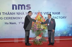 Japanese-funded plant inaugurated in Ha Nam