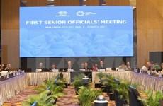APEC SOM1 continues agenda, discussing cooperation plans