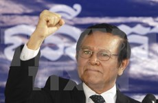 Cambodian opposition party names new leader