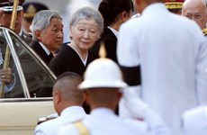 Japanese Emperor visits Thailand