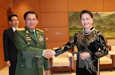 NA Chairwoman pledges further ties with Myanmar army, people