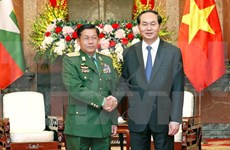 Vietnam, Myanmar boost military ties