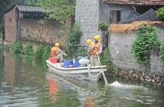 Hanoi: Dozens of polluted lakes cleaned up