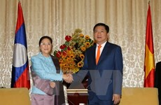 HCM City leader receives Lao legislative body head