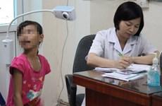 Rate of gastric disease in Vietnamese children growing
