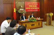 Formation of Bac Van Phong special administrative-economic zone debated