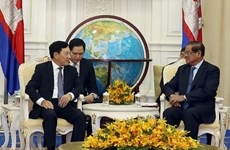Deputy PM meets Cambodia's acting Prime Minister