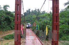 Quang Nam builds new bridges in disadvantaged areas