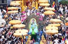 Quan The Am festival takes place in Da Nang