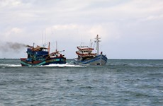 Vietnamese fishermen saved in Gulf of Thailand