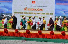 Construction begins at big service-entertainment complex in Kien Giang
