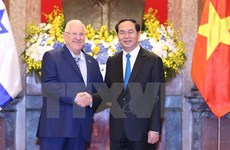 Vietnamese, Israeli Presidents hold talks