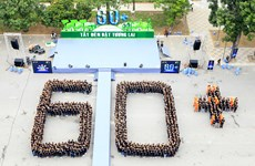 Over 2,000 Vietnamese students respond to Earth Hour