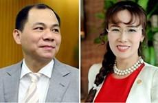 Two Vietnamese in Forbes' billionaires list