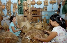 Photos of Vietnam's traditional trade villages displayed in Mozambique