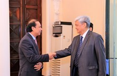 Deputy FM greets Philippine, Chinese guests