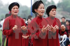 Phu Tho opens Xoan singing exhibition ahead of Hung Kings Temple Festival