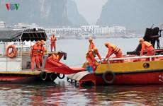 Oil spill response training held in Quang Ninh
