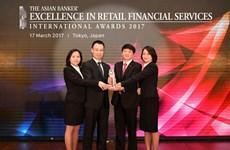 BIDV named best retail bank in Vietnam for third straight year