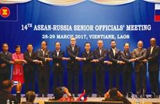 ASEAN, Russian senior officials meet in Vientiane