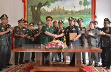 Defence Ministry builds new office building for Cambodian army