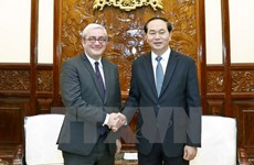 President receives AFP Chairman