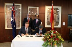 Vietnam-Australia cooperation focuses on economic partnership