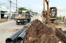 Tien Giang spends over 215 billion VND on water supply pipelines