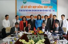 Vietnam, Germany cooperate in training medical manpower