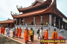 Can Tho's Buddhists work to develop Vietnam Buddhist Sangha