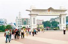 Lao Cai int'l border gate records positive growth in trade