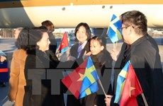 NA Chairwoman begins official visit to Sweden