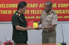 Foreign military attachés visit southern, central localities