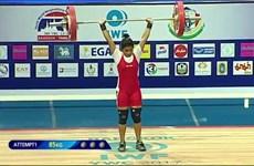 Vietnamese lifters shine at world champs