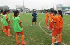 U15 football team convenes for AFF football event