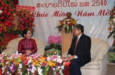 HCM City leaders congratulate Laotians on Bunpimay festival